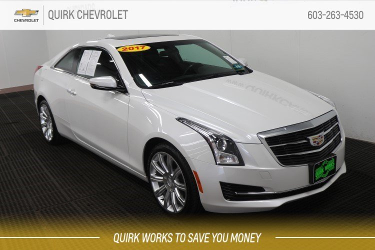 Pre-Owned 2017 Cadillac ATS Coupe AWD