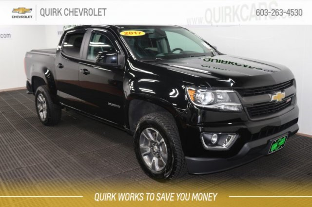 Certified Pre Owned 2017 Chevrolet Colorado 4wd Z71 4wd