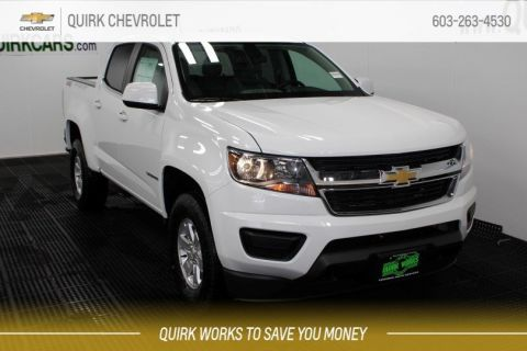 2019 Chevrolet Colorado WT Crew Cab 4x4