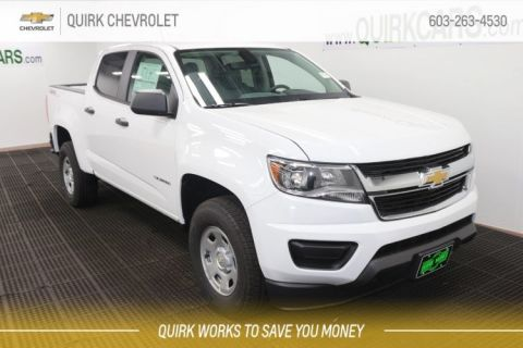 New 2020 Chevrolet Colorado 4WD Work Truck