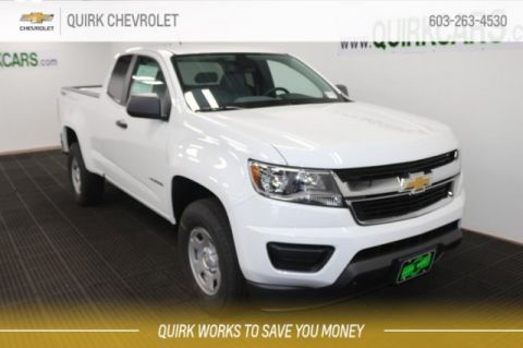 New 2019 Chevrolet Colorado 4WD Work Truck