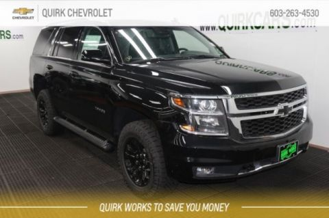 Chevy Tahoe Lease >> New Chevy Tahoe Lease Finance Deals Quirk Chevy Nh