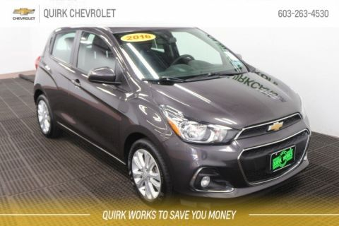 Certified Pre-Owned 2016 Chevrolet Spark LT